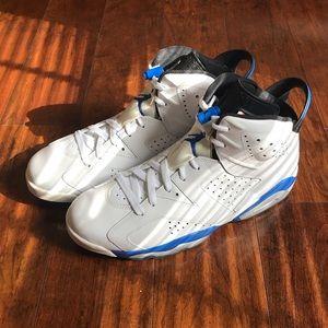 Retro 'Sport Blue' 6s